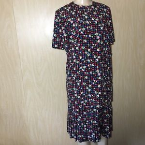 VINTAGE LESLIE FAY DRESS SIZE 8